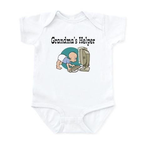 Grandma's Helper (Computer) Infant Bodysuit
