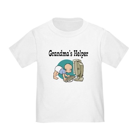 Grandma's Helper (Computer) Toddler T-Shirt