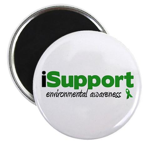 "iSupport Environment 2.25"" Magnet (10 pack)"