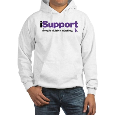 iSupport Domestic Violence Hooded Sweatshirt