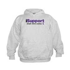 iSupport Domestic Violence Hoodie