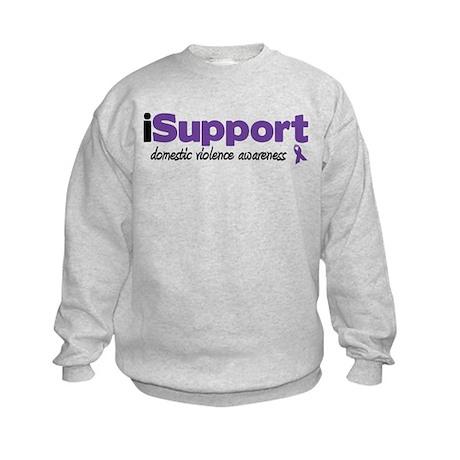 iSupport Domestic Violence Kids Sweatshirt