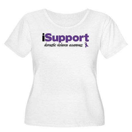 iSupport Domestic Violence Women's Plus Size Scoop