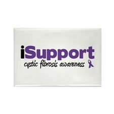 iSupport Cystic Fibrosis Rectangle Magnet