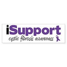 iSupport Cystic Fibrosis Bumper Bumper Sticker
