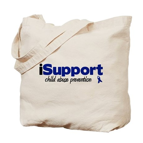 iSupport Child Abuse Tote Bag