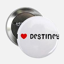 I LOVE DESTINEY Button