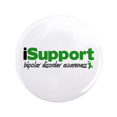 "iSupport Bipolar Disorder 3.5"" Button (100 pack)"