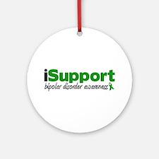 iSupport Bipolar Disorder Ornament (Round)