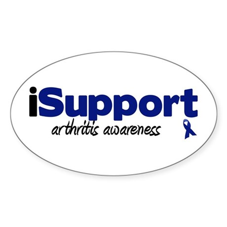 iSupport Arthritis Oval Sticker