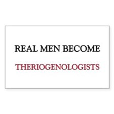 Real Men Become Theriogenologists Decal