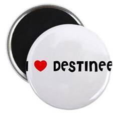 I LOVE DESTINEE Magnet