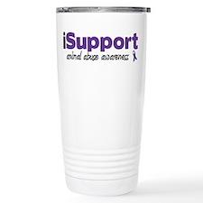 iSupport Animal Abuse Travel Mug