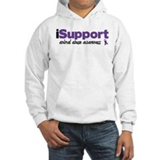 iSupport Animal Abuse Hoodie