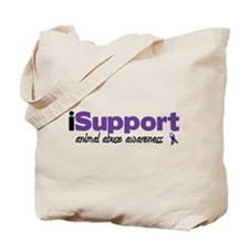 iSupport Animal Abuse Tote Bag