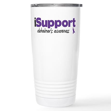 iSupport Alzheimers Stainless Steel Travel Mug