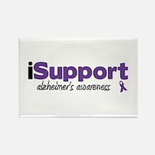 iSupport Alzheimers Rectangle Magnet