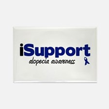 iSupport Alopecia Rectangle Magnet