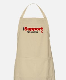 iSupport AIDS BBQ Apron