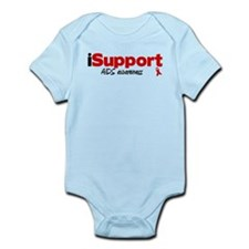 iSupport AIDS Infant Bodysuit