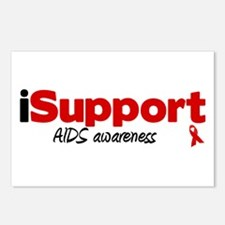 iSupport AIDS Postcards (Package of 8)