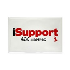 iSupport AIDS Rectangle Magnet
