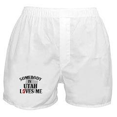 Somebody In Utah Boxer Shorts