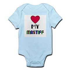 LOVE MY MASTIFF Infant Creeper