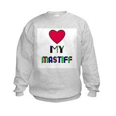 LOVE MY MASTIFF Sweatshirt