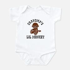 Grandma's Lil Monkey Infant Bodysuit