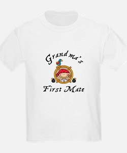 Grandma's First Mate T-Shirt