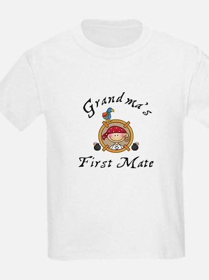 Grandma's First Mate T-Shirt