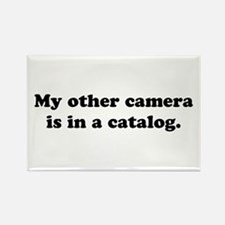 WTD: My other camera is... Rectangle Magnet