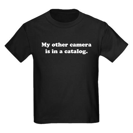 WTD: My other camera is... Kids Dark T-Shirt