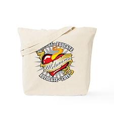 Melanoma Tattoo Heart Tote Bag
