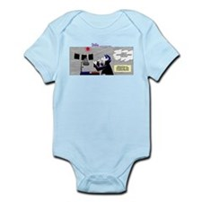 Cute What the duck photo photography comic humor Infant Bodysuit