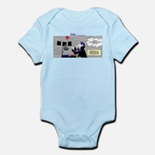 Cute What the duck photo photography comic weezer humor Infant Bodysuit