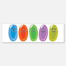 Jelly Beans Bumper Bumper Bumper Sticker