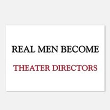 Real Men Become Theater Directors Postcards (Packa