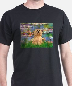 Lilies / Lhasa Apso #9 T-Shirt