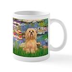 Lilies / Lhasa Apso #9 Mug