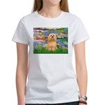 Lilies / Lhasa Apso #9 Women's T-Shirt