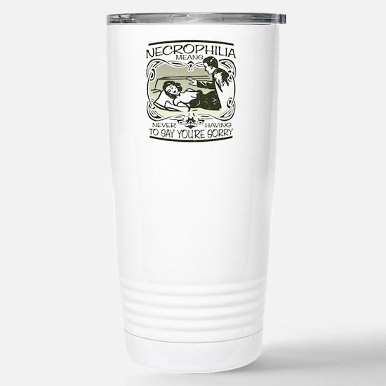 Necrophilia Stainless Steel Travel Mug