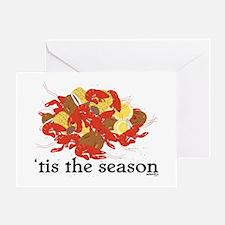 Crawfish Season Greeting Card