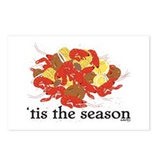 Crawfish Season Postcards (Package of 8)