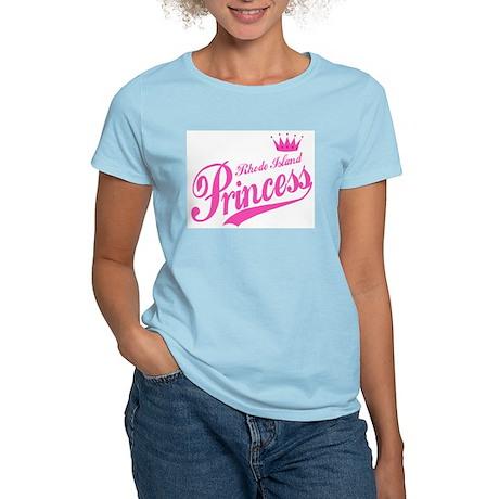 Rhode Island Princess Women's Pink T-Shirt