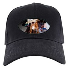 Baseball Hat With Chihuahua
