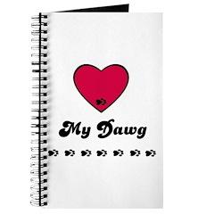LOVE MY DAWG Journal