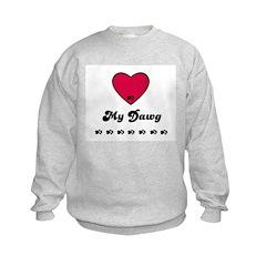 LOVE MY DAWG Sweatshirt