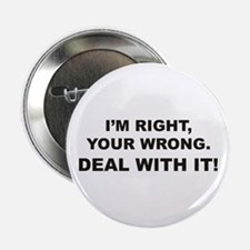 """Deal With It 2.25"""" Button"""